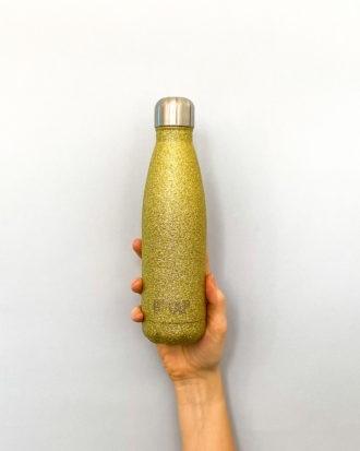 butelka termiczna star dust złota